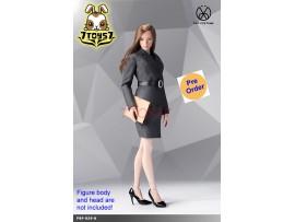 [Pre-order] PopToys 1/6 X29 Office Lady Suit Skirt Ver (Grey)_ Set _PT097B