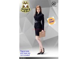 [Pre-order] PopToys 1/6 X29 Office Lady Suit Skirt Ver (Blue)_ Set _PT097C