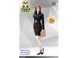 [Pre-order] PopToys 1/6 X29 Office Lady Suit Skirt Ver (Black)_ Set _PT097D