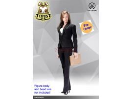 [Pre-order] PopToys 1/6 X30 Office Lady Suit Pants Ver (Black)_ Set _PT098D