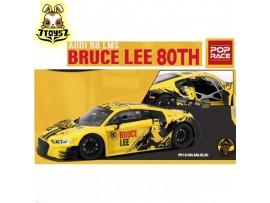 Poprace 1/18 Audi R8 LMS Bruce Lee 80TH_ Diecast Model Car _POP003X