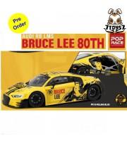 [Pre-order deposit] Poprace 1/18 Audi R8 LMS Bruce Lee 80TH_ Diecast Model Car _POP003X