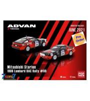 [Pre-order deposit] Poprace 1/64 Mitsubishi Starion 1986 Lombard RAC Rally #80_ Diecast Model Car _POP005Z