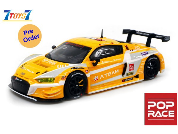 [Pre-order deposit] Poprace 1/64 Audi R8 LMS EVA RT Prototype-00 X Works R8_ Diecast Model Car _POP001Y