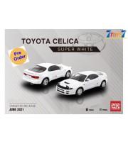 [Pre-order deposit] Poprace 1/64 Toyota Celica GT-Four ST185 Super White_ Diecast Model Car _POP006Z