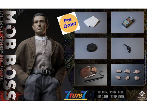 [Pre-order deposit] Present Toys 1/6 The second Mob Boss_ Box Set _PST009Z