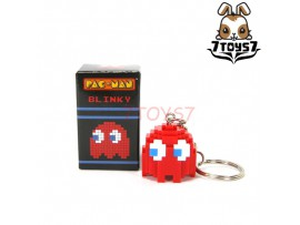 Pure Arts Pac-Man Ghost Blinky Red Arcade Game Bandai Namco_ Keychain _PU003F