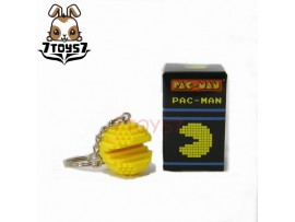 Pure Arts Pac-Man Arcade Game Bandai Namco_ Keychain _Now PU003A