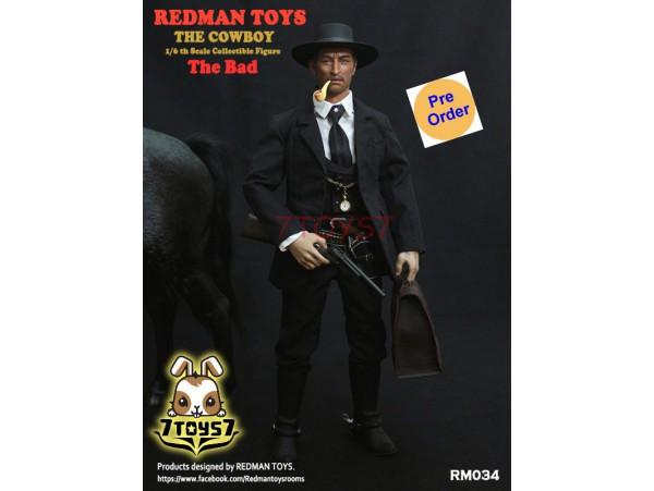 [Pre-order] Redman Toys 1/6 RM034 The Cowboy The Bad_ Box Set _RM008Z
