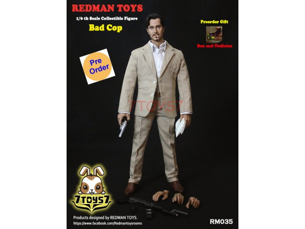 [Pre-order] Redman Toys 1/6 RM035 The Profession Bad Cop_ Box Set _RM009Z