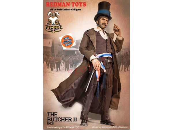 [Pre-order] REDMAN TOYS 1/6 RM028 The Butcher II_ Box Set _RM003Z