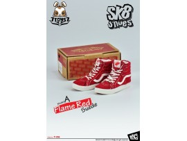MC Toys 1/6 SK8 Shoes : Flame Red MC047A