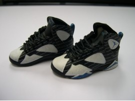 Sneaker Model 1/6 Jordan Sport shoes S14#11 SMX18K