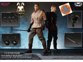 [Pre-order] Soap Studio 1/12 Bruce Wayne & Ra's al Ghul League of Shadows Gear_ Set _Batman DC Movie SP007Z
