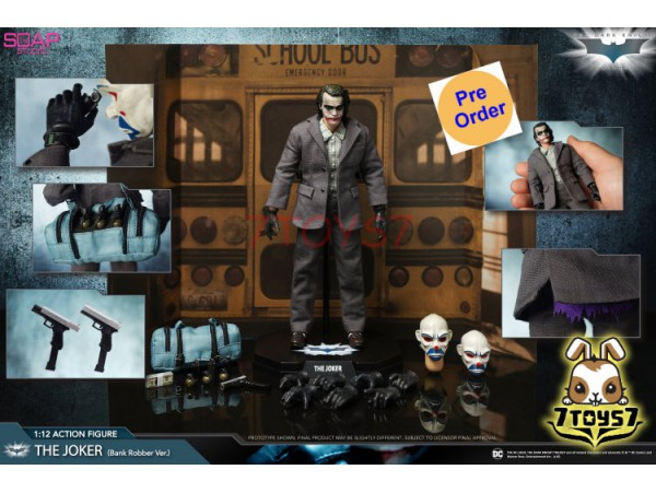 [Pre-order] Soap Studio 1/12 Joker Bank Robber Version_ Set _SP013Z