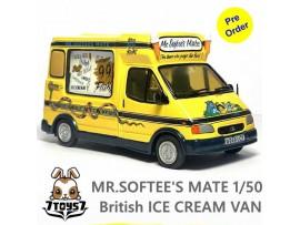 [Pre-order deposit] Soar Art 1/50 Mr.Softee's Mate British Ice Cream Van_ Box _SA009A