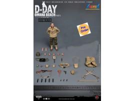 "[Pre-order deposit] Soldier Story 1/12 SSM004 WWII US 2nd Ranger Battalion ""Captain"" (No Diorama)_ Box Set _SR072Z"