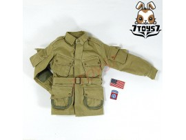 Soldier Story 1/6 82nd Airborne Div - Normandy_ Jacket w/ badges _US WWII SR031S