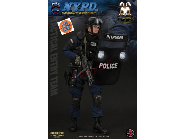 [Pre-order] Soldier Story 1/6 SS100 NYPD ESU Tactical Entry Team_ Box Set _SR058Z
