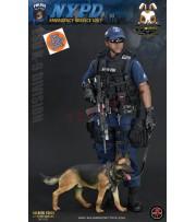 [Pre-order] Soldier Story 1/6 SS101 NYPD ESU K9 Division_ Box Set _SR059Z