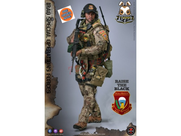 "[Pre-order] Soldier Story 1/6 SS107 Iraq Special Operations Forces ""ISOF"" - Saw Gunner_ Box Set _SR061Z"