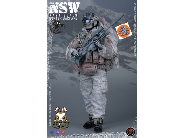 [Pre-order] Soldier Story 1/6 SS109 NSW Navy Seals Winter Warfare - Marksman_ Box Set _SR063Z