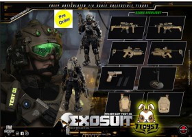 [Pre-order deposit] Soldier Story 1/6 SS122 Exo Skeleton Armor Suit Test-01_ Box _SR074Z