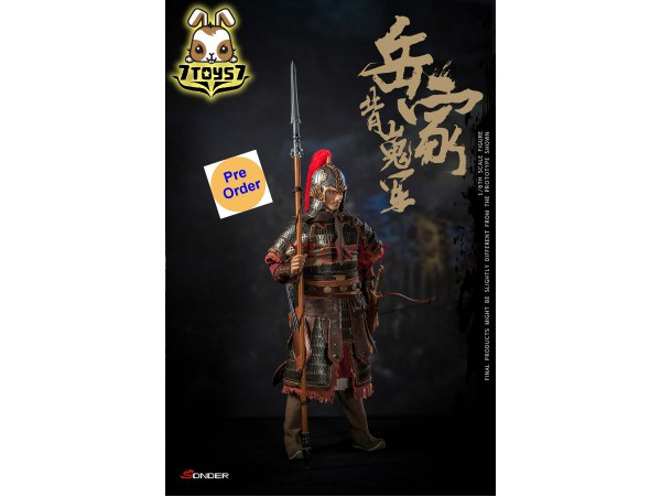 [Pre-order] Sonder 1/6 SD003 Elite Troops of SongDynasty - Warrior of army Yue_ Box Set _SDR001Z