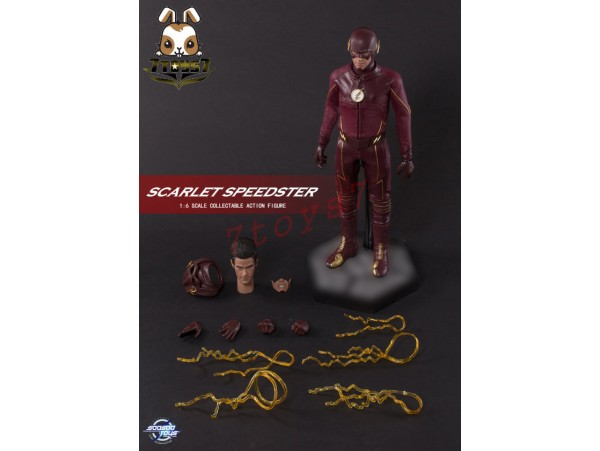 Soosootoys 1/6 SST-002 Scarlet Speedster_ Box Set _The Flash Now ZZ128A