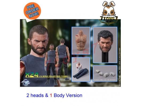 [Pre-order] Soosootoys 1/6 SST004 X24 (2 head & 1 Body version)_ Set _ZZ128C