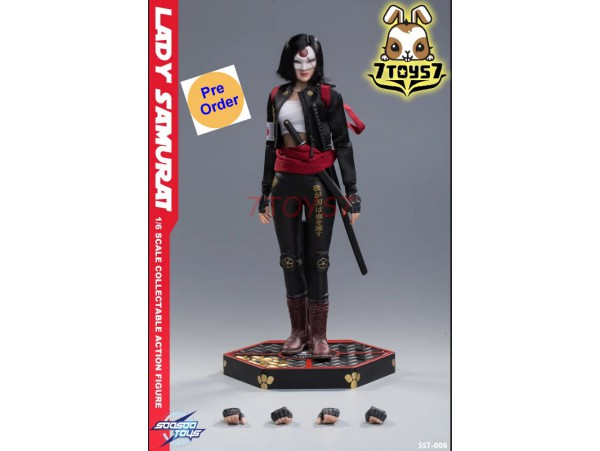 [Pre-order] Soosootoys 1/6 SST006 Lady Samurai_ Box Set _ZZ128H