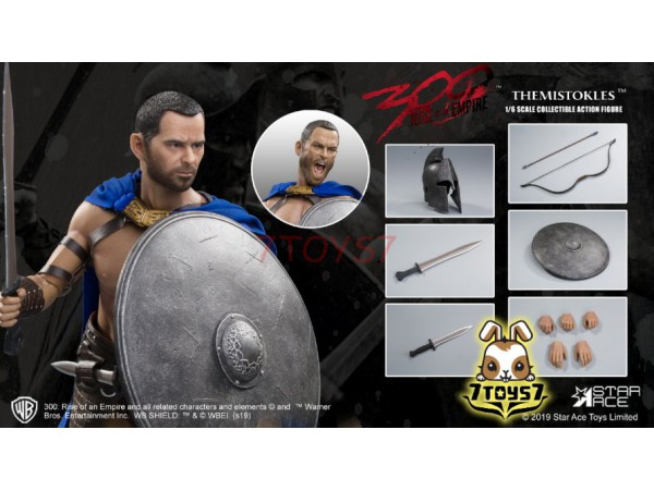 Star Ace Toys 1/6 SA0031S 300 Rise of an Empire - Themistokles 2.0_ Box _SB021Y