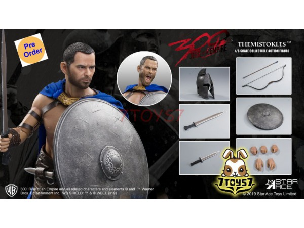 [Pre-order] Star Ace Toys 1/6 SA0031S 300 Rise of an Empire - Themistokles 2.0_ Box _SB021Y