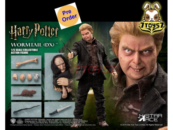 [Pre-order] Star Ace Toys 1/6 SA0074 Harry Potter - Peter Pettigrew (Wormtail)_ Deluxe Box Set _SB051Y