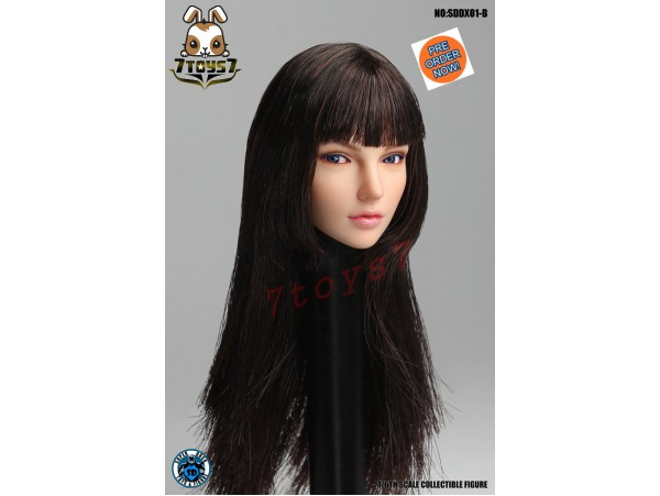 [Pre-order] Super Duck 1/6 SDDX01B Rollable eyes Female_ Head _SD056B