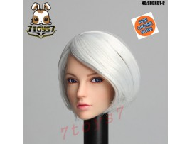 [Pre-order] Super Duck 1/6 SDDX01C Rollable eyes Female_ Head _SD056C