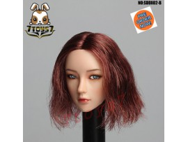 [Pre-order] Super Duck 1/6 SDDX02B Rollable eyes Female_ Head _SD063B