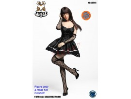 [Pre-order] Super Duck 1/6 CO021C Sexy Dress Suit_ Black Set _ SD055C