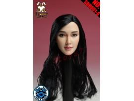 Super Duck 1/6 SDH001A Black rooted long hair Female_ Head _Now SD030A