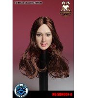 Super Duck 1/6 SDH007A Female rooted long hair_ Head _Now SD044A