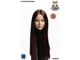 [Pre-order] Super Duck 1/6 SDH010C Asian Female_ Head _SD056C