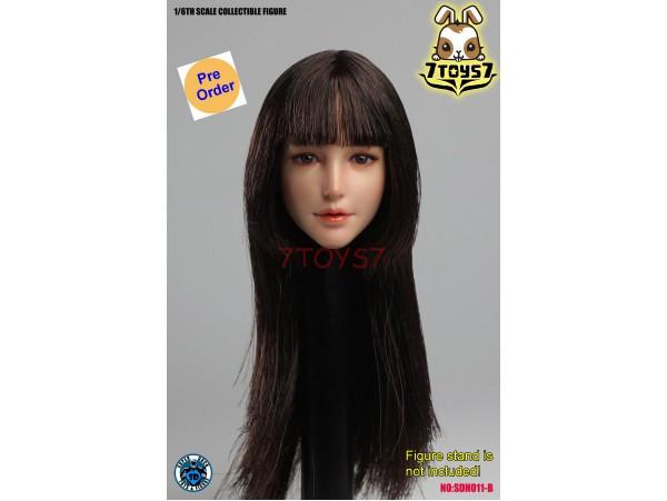 [Pre-order] Super Duck 1/6 SDH011B Female long hair_ Head _SD066B