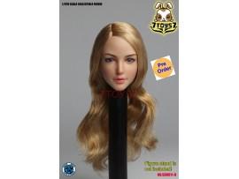 [Pre-order] Super Duck 1/6 SDH011D Female long golden hair_ Head _SD066D