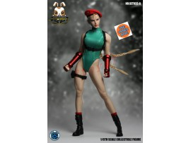 [Pre-order] Super Duck 1/6 SET033A Fighting Girls Cosplay_ Green Costume w/ Head Set _SD060A