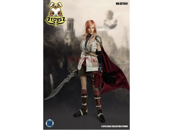 Super Duck 1/6 SET041 Cosplay Fantasy Warrior_ Costume w/ Head Set _SD073B