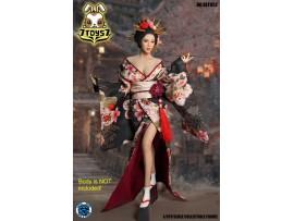 Super Duck 1/6 SET052 Cosplay Geisha_ Costume w/ Head Set _SD088Z