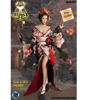 [Pre-order deposit] Super Duck 1/6 SET052 Cosplay Geisha_ Costume w/ Head Set _SD088Z