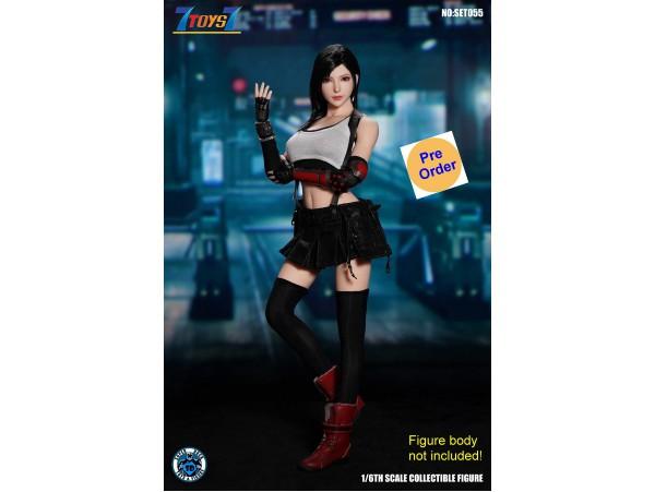 [Pre-order deposit] Super Duck 1/6 SET055 Fantasy Fighting Goddess Cosplay_ Costume w/ Head Set _SD092Z