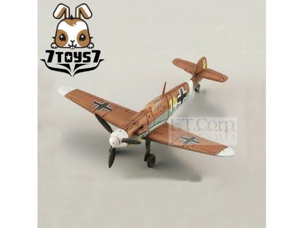 Takara 1/144 Famous Airplanes 1#3 Bf109 F-2 JG27 TROP German WWII TTX07C