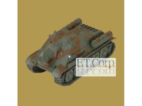 Takara 1/144 WTM 07 #132_ SU-122 Assault Gun 2 Color Paint _Soviet WWII TTX24O